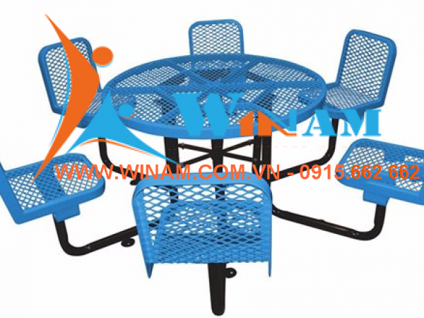 WinWorx - WAMT42 Garden picnic table sets for 6 persons