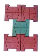 Gạch lát chữ H