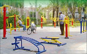 Rèn luyện sức khỏe với Thiết bị tập thể dục ngoài trời
