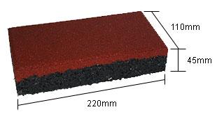 Thảm cao su hình chữ nhật