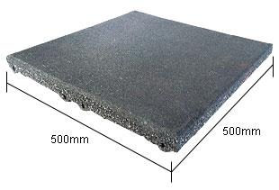 Thảm và Sàn cao su vuông có khớp nối
